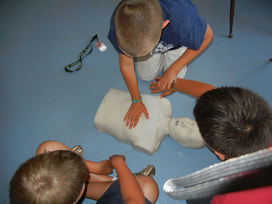 Kids teaching kids to save lives